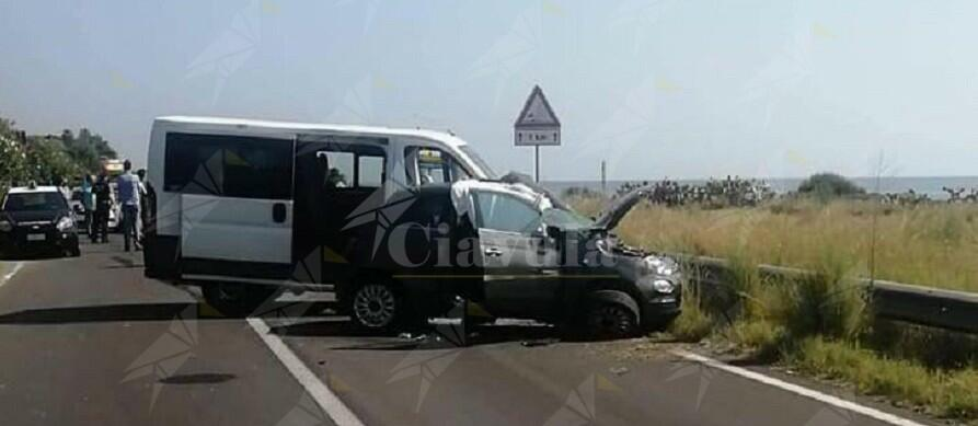 Incidente mortale a Brancaleone sulla statale 106