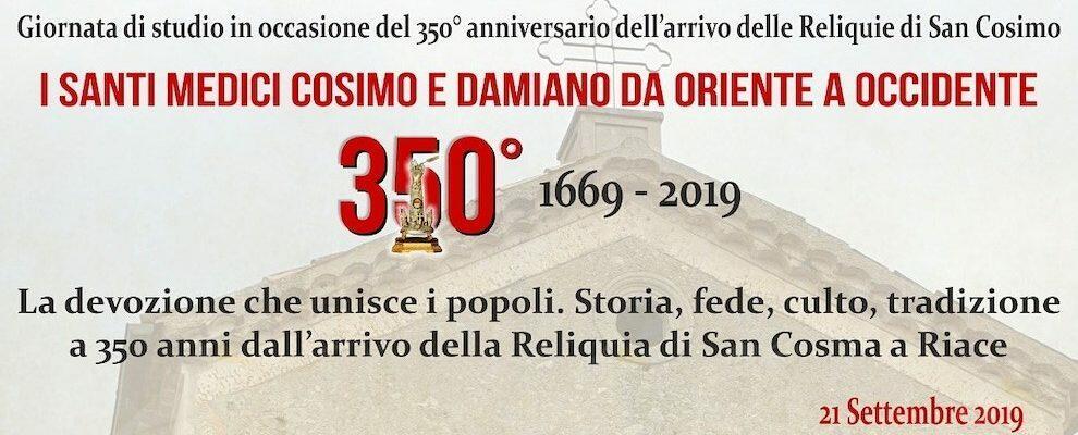 Riace, giornata di studi in occasione dei festeggiamenti dei SS martiri Cosimo e Damiano