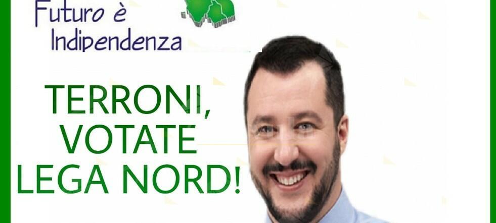 """Salvini definisce """"nazisti rossi"""" i calabresi che non piegano la testa. Vieni Capitan Coniglio, ti aspettiamo a Cosenza"""
