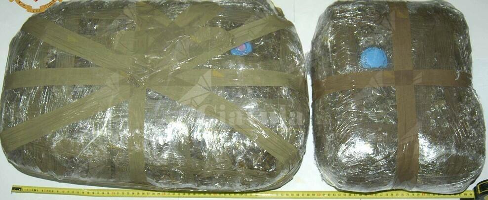 Revoca dei domiciliari e ordine di carcerazione ad un trentunenne trovato in possesso di 10 chili di droga
