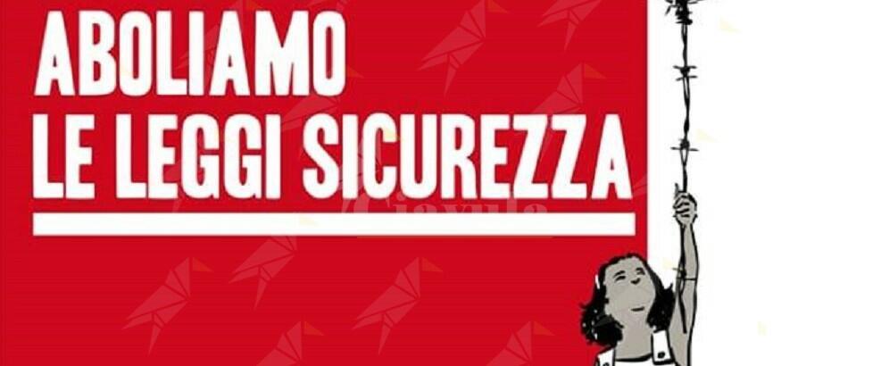 Manifestazione nazionale per l'abrogazione delle leggi razziali di Salvini