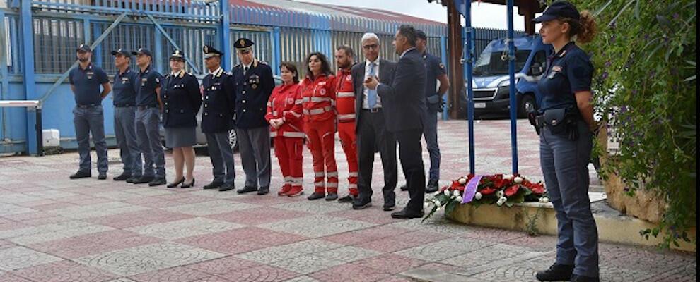 Crotone: commemorati in Questura i colleghi uccisi a Trieste