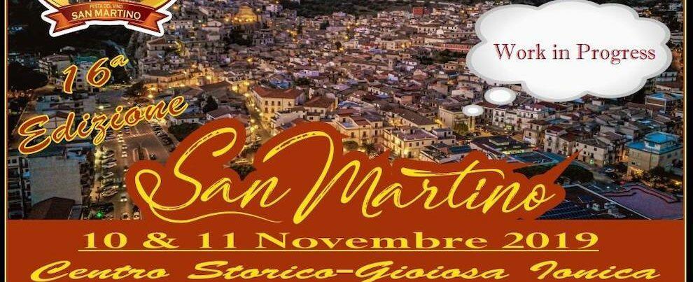 Tutto pronto per la festa di San Martino a Gioiosa Ionica