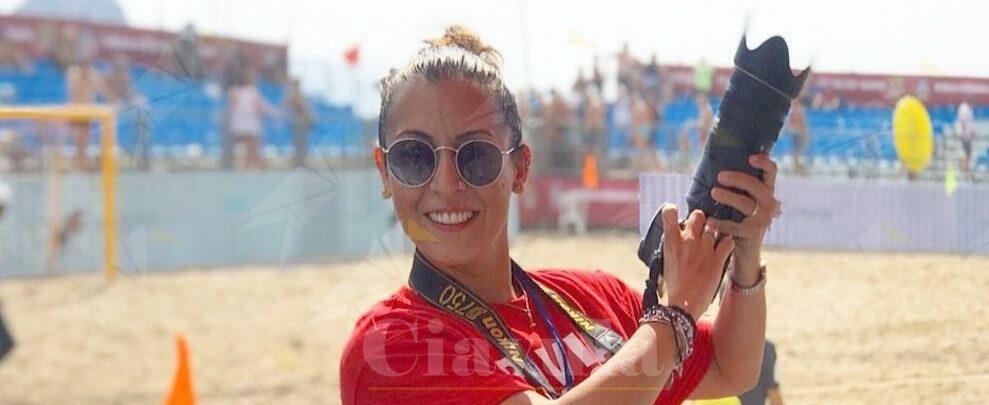 Cinzia Lombardo personaggio del giorno: una fotografa gioiosana al World Winners Cup