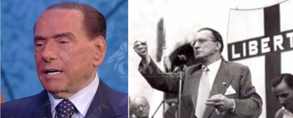 """""""Berlusconi e 'De Gasperi' scendono in piazza con la destra e l'estrema destra"""""""