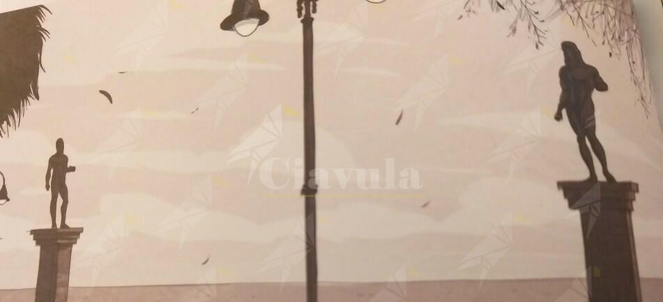 """Stasera alla biblioteca di Caulonia gli autori del fumetto Feltrinelli """"… a casa nostra. Cronaca da Riace"""". Interviene anche Domenico Lucano"""