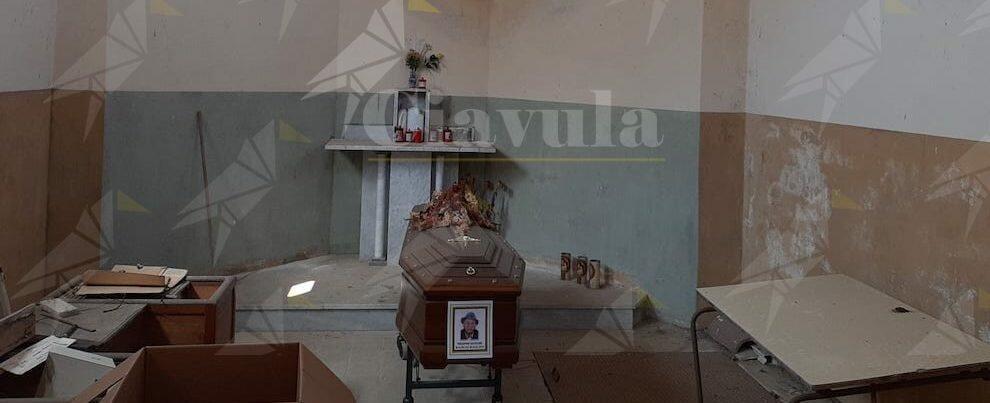"""Ammendolia scrive a Maiolo: """"Un uomo morto giace insepolto da 9mesi nel cimitero di Caulonia perché mancano 500 euro!"""""""