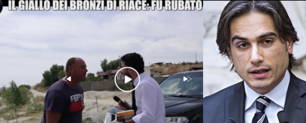 """Servizio de """"Le Iene"""" sui Bronzi di Riace. Interviene il sindaco Falcomatà"""
