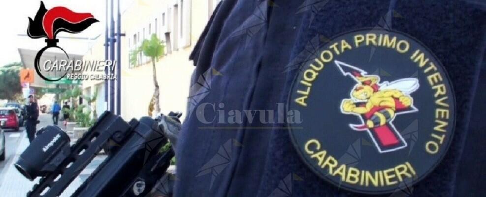I carabinieri spengono un incendio in un'abitazione di Reggio Calabria
