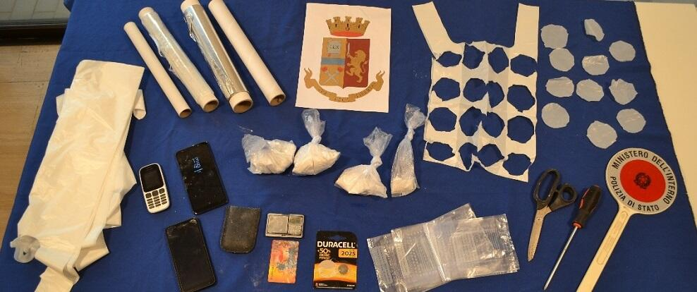 Sequestrati 245,9 grammi di cocaina, in manette due persone