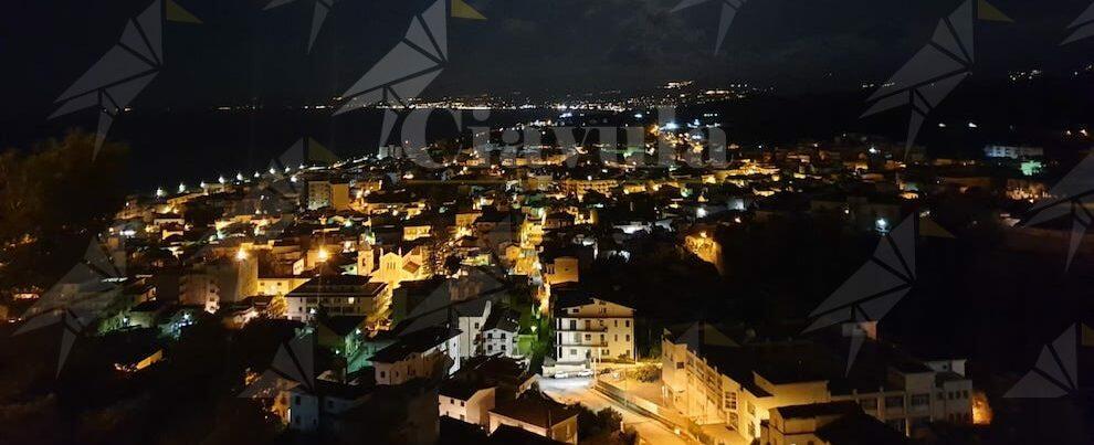 Foto del giorno: panorama di Roccella Jonica visto dal Castello