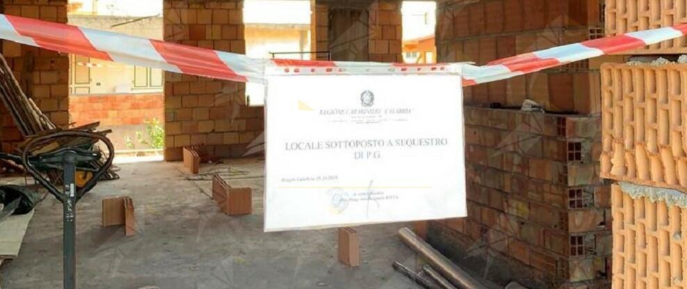 Costruzioni abusive in provincia di Reggio Calabria. I carabinieri deferiscono 4 persone