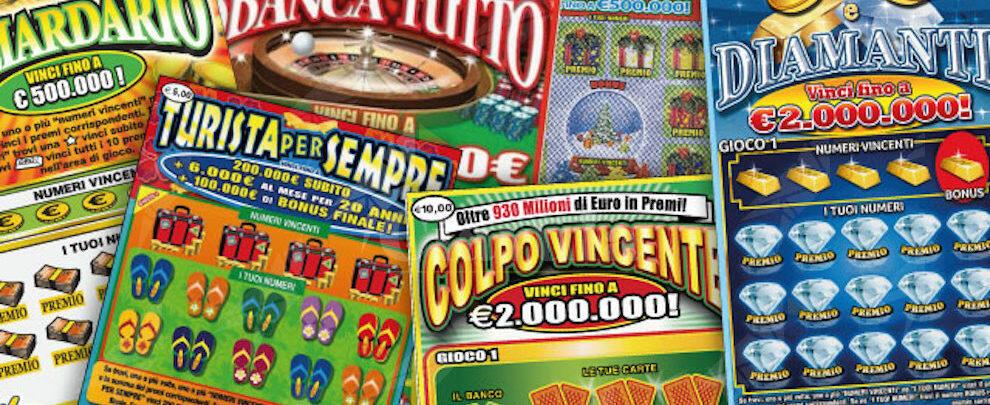 Vinti 2 milioni di euro in Calabria con un gratta e vinci