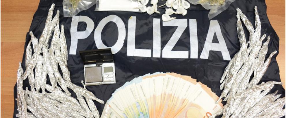 La polizia arresta uno spacciatore nel vibonese