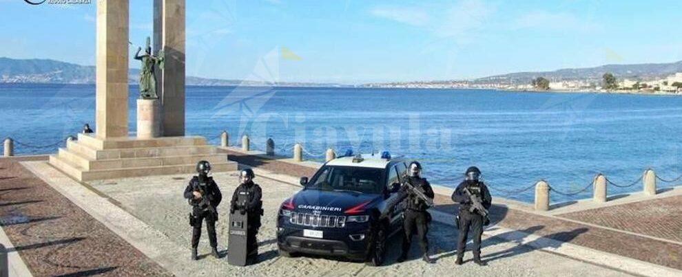 Festività: l'Arma schiera sul territorio reggino le migliori risorse per garantire la sicurezza dei cittadini