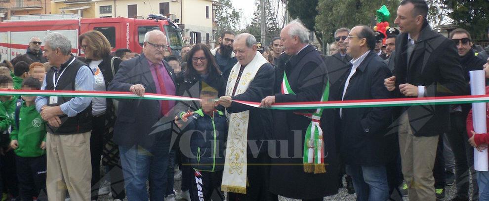 Inaugurati i nuovi impianti sportivi a Gerace