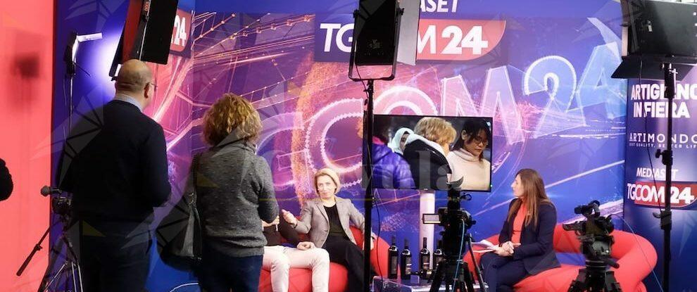Caterina Belcastro a Milano in rappresentanza della Città Metropolitana – video