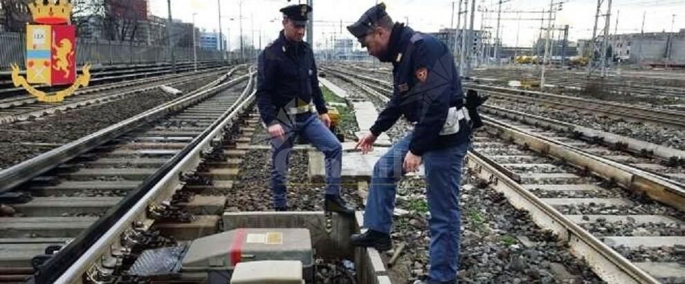 Rame razziato dalla linea ferroviaria. Arrestato un 47enne incensurato