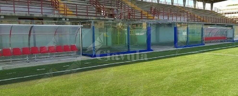 Giovani studenti danneggiano lo spogliatoio dello stadio comunale di Locri