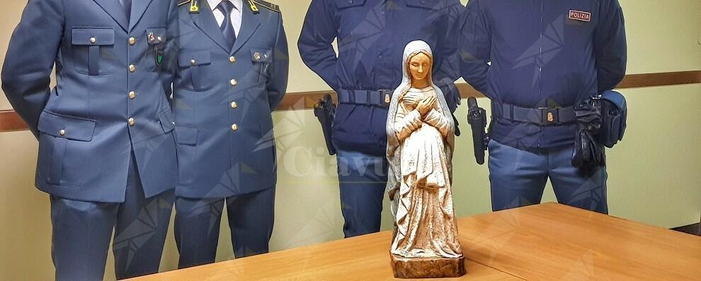 """Ritrovata la Statua della """"Madonna Gravida"""""""