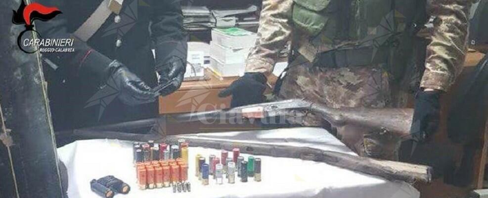 Reggio Calabria: fucile e cartucce nascosti in un tubo. Sequestrati dai carabinieri