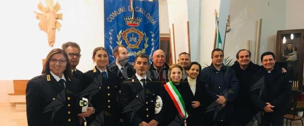 Il benvenuto del comune di Caulonia al nuovo comandante della polizia municipale