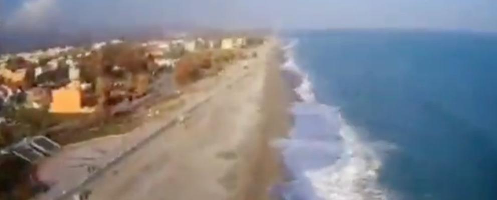 Caulonia e la bellezza del mare d'inverno – video