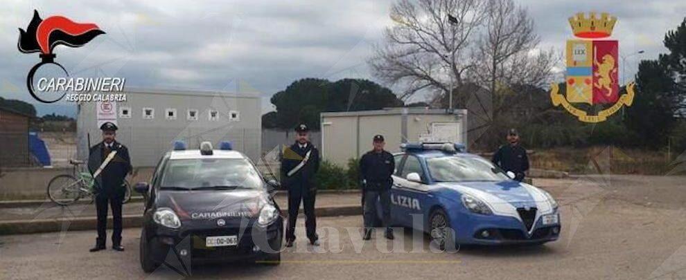 Combustione illecita di rifiuti, due arresti alla Tendopoli di San Ferdinando