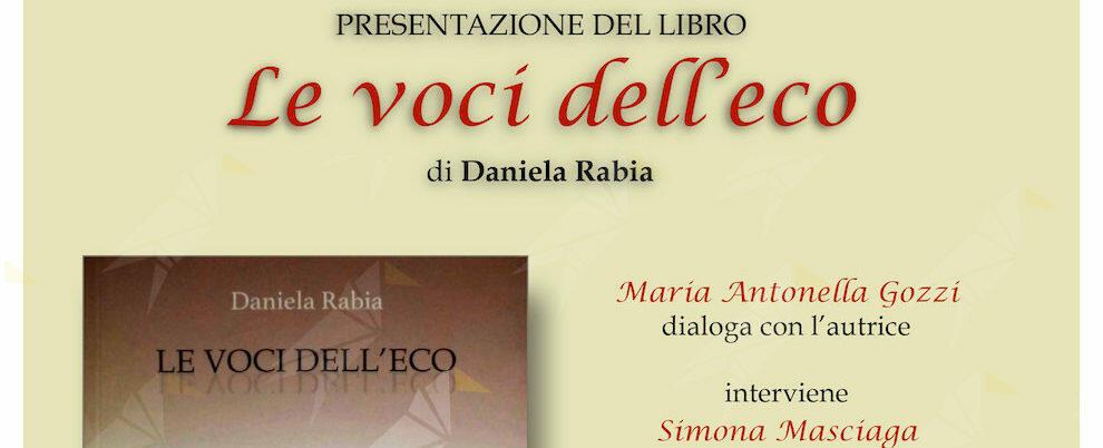 """Al MAG di Siderno la presentazione del libro """"Le voci dell'eco"""""""