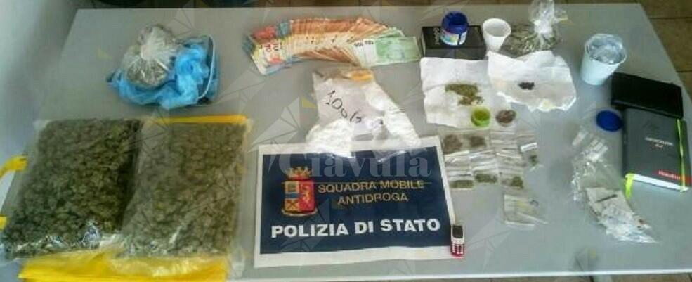 2 persone arrestate e 1 denunciata per spaccio di droga