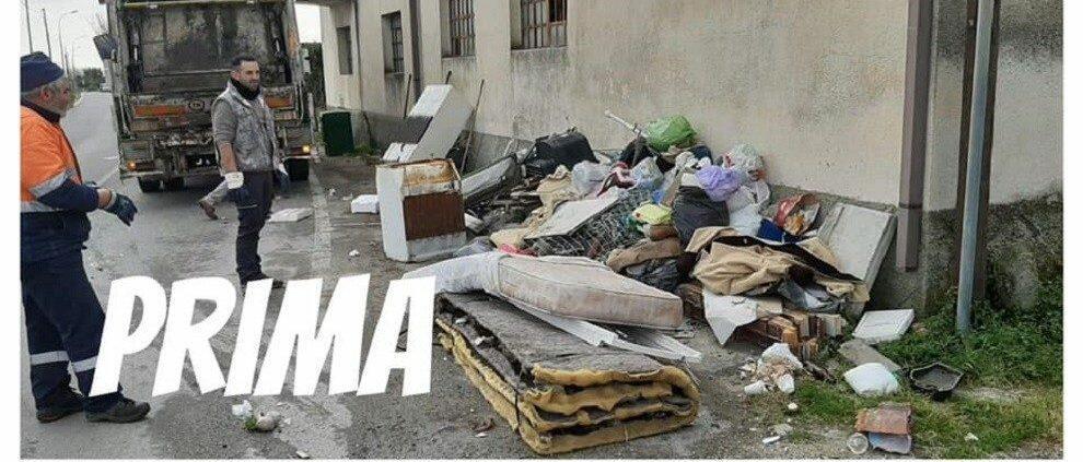 Focà di Caulonia ripulita nuovamente dai rifiuti e dagli ingombranti