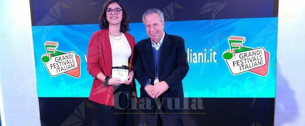 La calabrese Claudia Messina trionfa a Casa Sanremo