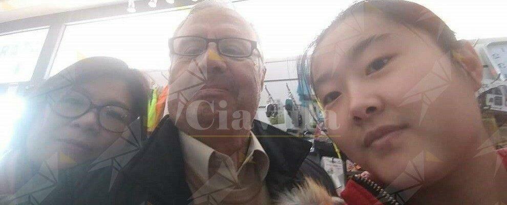 L'ex sindaco di Caulonia, Ilario Ammendolia, solidale con la commerciante cinese Monica