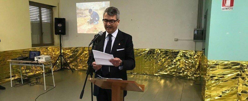 Accoglienza: Vitaliano Fulciniti ospite del Club per l'UNESCO di Gioiosa a Palazzo Amaduri