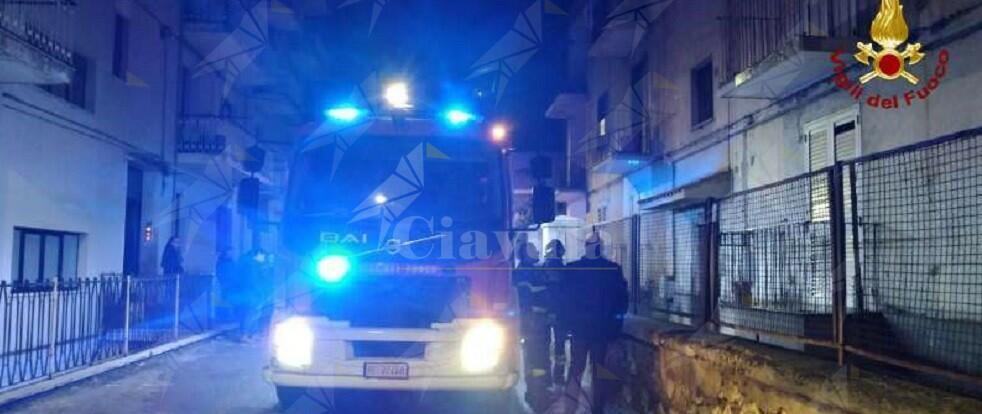 Calabria: incendio in un appartamento, evacuato l'intero edificio