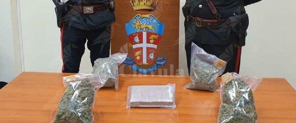 Ardore: sorpreso in auto con 1 kg di cocaina e 1 kg di marijuana, arrestato
