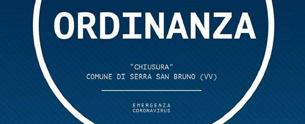 Coronavirus, chiuso il comune di Serra San Bruno