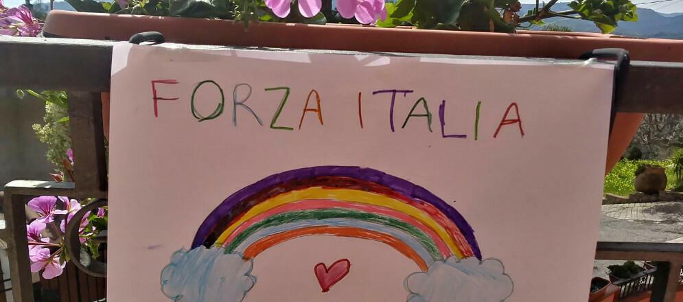 #andratuttobene, i messaggi dei bambini