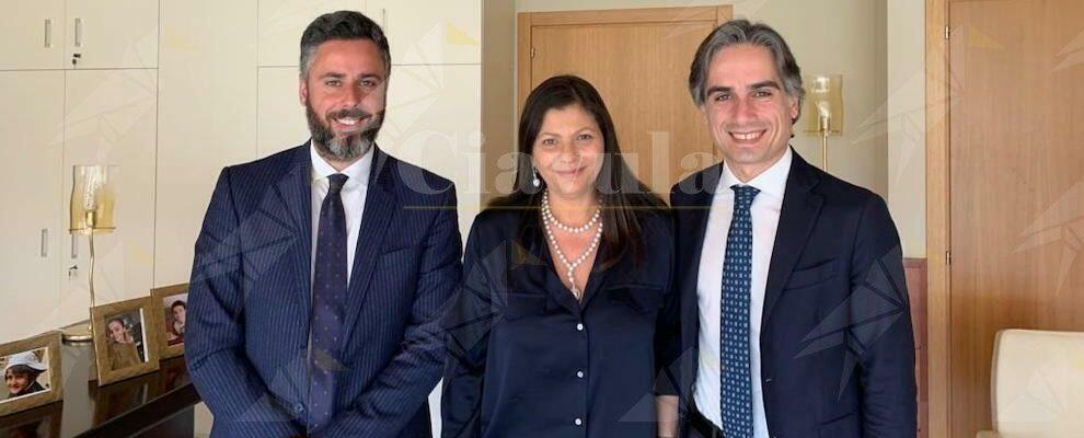 """Il sindaco Falcomatà incontra la Presidente Santelli: """"Priorità rifiuti, lavoro, trasporto locale e sistema aeroportuale"""""""