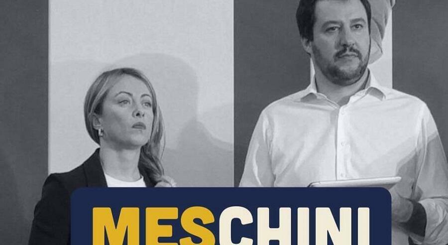 Salvini e Meloni irresponsabili, tentano di affondare l 'Italia