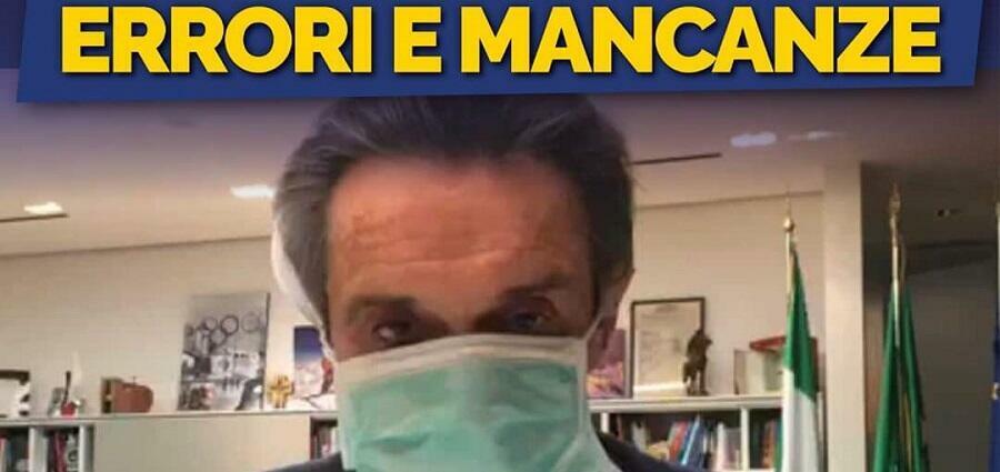 Coronavirus: i danni della scandalosa gestione leghista in Lombardia