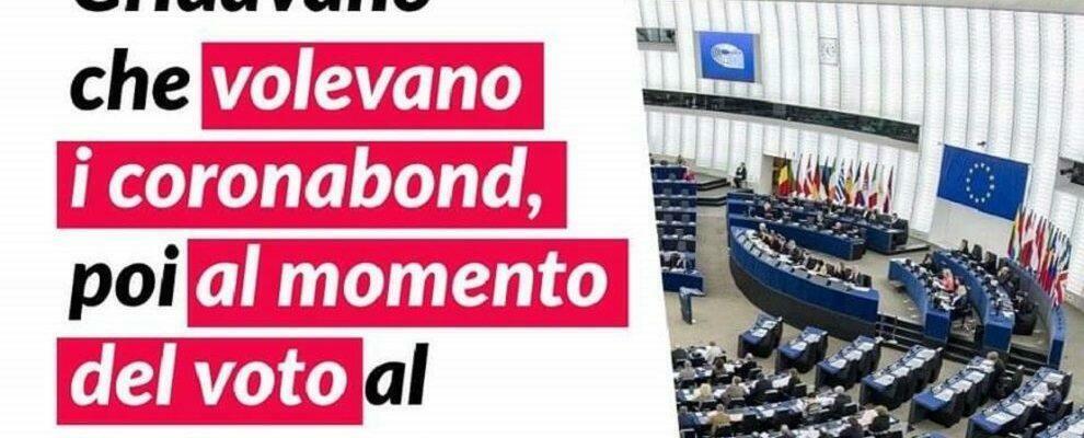 Salvini vota contro l'Italia