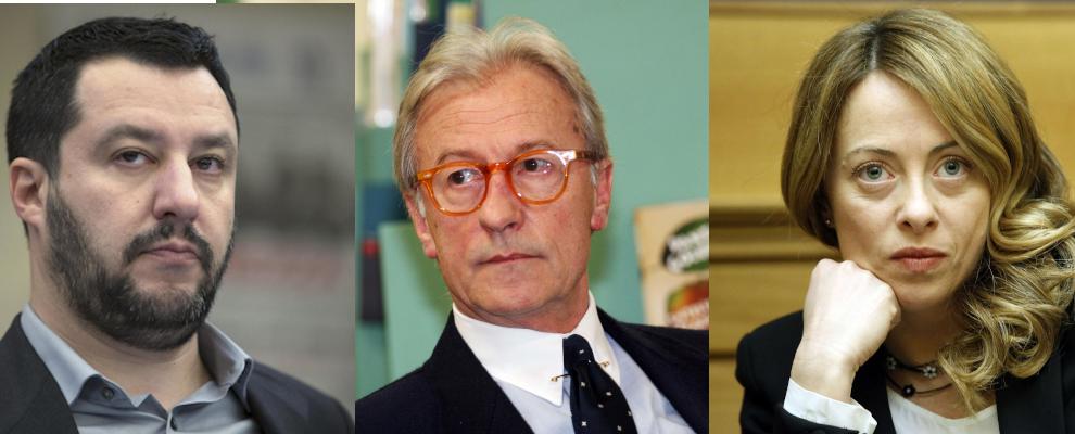 I calabresi si indignano per Feltri, ma votano Salvini e Meloni che lo volevano Presidente della Repubblica