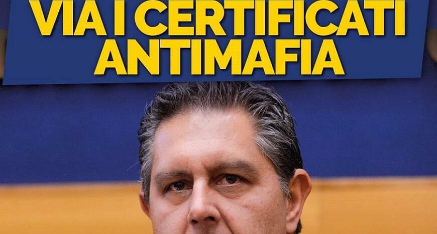 La destra approfitta dell'emergenza Coronavirus e propone di eliminare i certificati antimafia