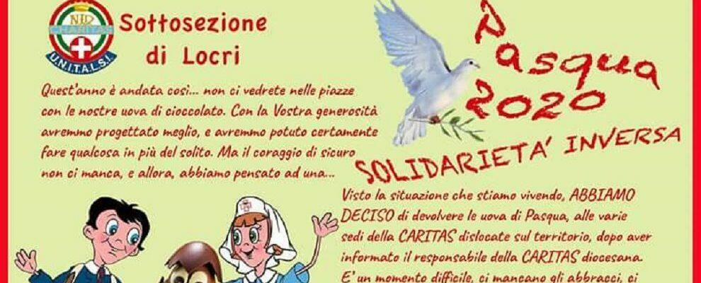 Unitalsi-sottosezione Locri: le iniziative solidali per la Pasqua 2020
