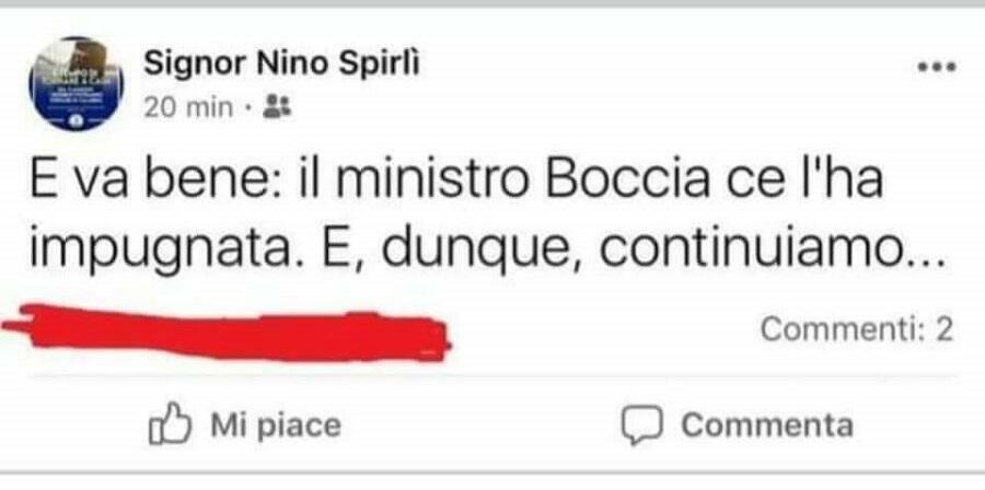 """Cristallo: """"L'inadeguatezza di Spirlì, il leghista che rappresenta la regione Calabria"""""""