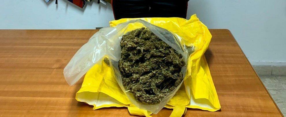 Beccati con più di 400gr di marijuana, due calabresi finiscono ai domiciliari