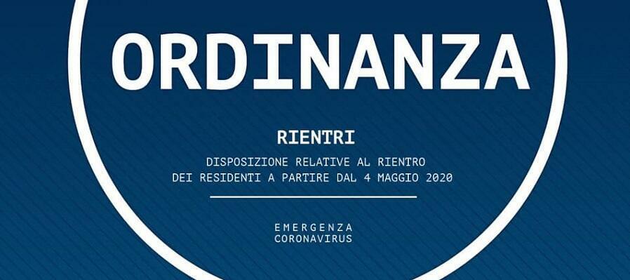 Nuova ordinanza della regione: soltanto i residenti potranno tornare in Calabria