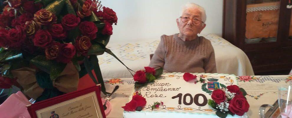 Sant'Ilario festeggia i 100 anni della signora Rosa. Gli auguri dell'amministrazione comunale