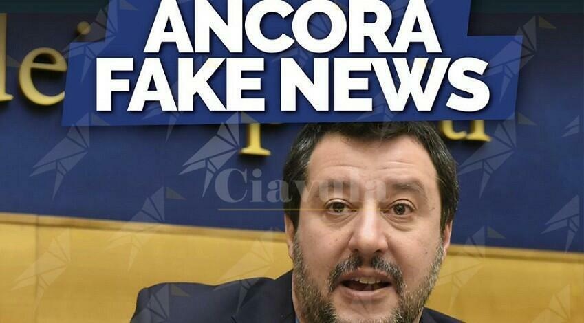 Le bugie quotidiane di Salvini
